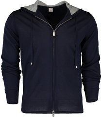 fine guage full zip hoodie