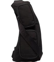 alexander mcqueen sling crossbody bag - black