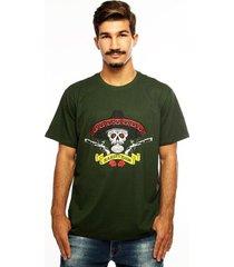 camiseta hardivision hombre manga curta