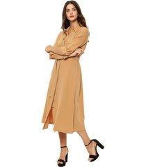 vestido camel portsaid margaret