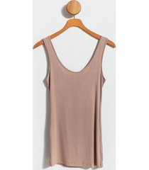 reese tank top - taupe