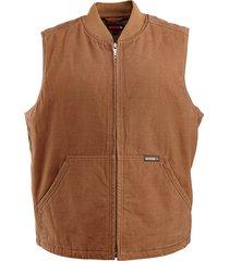 wolverine men's finley vest chestnut, size xl