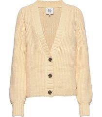 jolanda cardigan stickad tröja cardigan beige twist & tango