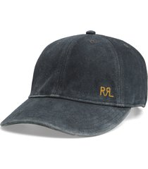 men's rrl rough out suede baseball cap -