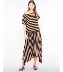 sukienka maxi megan stripes