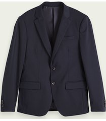 scotch & soda piqué blazer