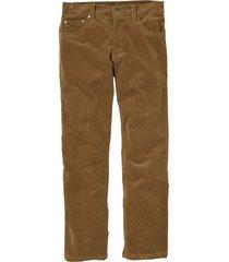 pantaloni in velluto elasticizzato regular fit straight (marrone) - bpc selection