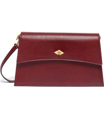 'roma' small leather shoulder bag