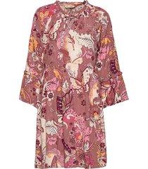 puzzle me together dress korte jurk roze odd molly