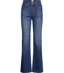 lo flare jeans jeans wijde pijpen blauw twist & tango