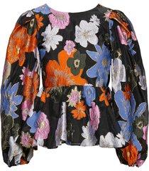 gara, 1035 organza blouse lange mouwen multi/patroon stine goya