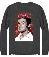 hybrid men's dexter portrait long sleeve t-shirt