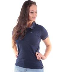 camisa polo cp0719 regular traymon azul marinho - kanui