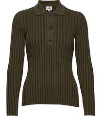 mary sweater gebreide trui groen twist & tango
