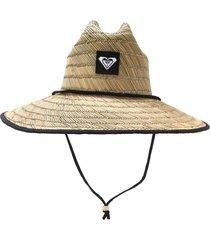 chapéu roxy  tomboy 2 bege - kanui