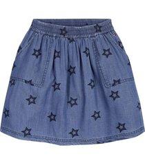 falda denim azul tommy hilfiger