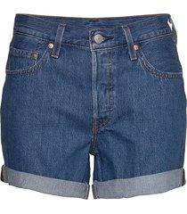 501 rolled short sansome ranso shorts denim shorts blå levi´s women
