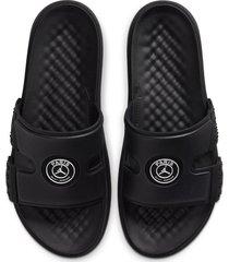 9-sandalias de hombre nike jordan hydro 8-negro