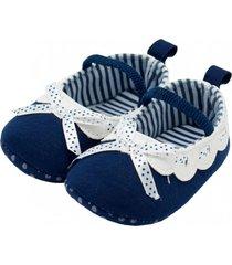 zapato ballet azul topsoc