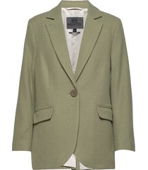 ollie blazer colbert groen brixtol textiles