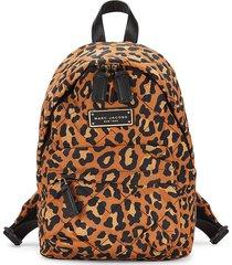 marc jacobs women's mini leopard-print backpack - leopard