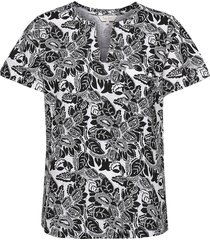 gesinapw ts blouses short-sleeved svart part two