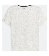 blusa de pijama manga curta lisa | lov | branco | gg