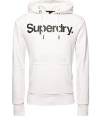 superdry men's core logo hoodie