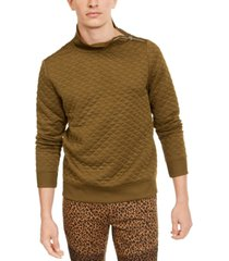 inc men's quilted mock neck pullover, created for macy's