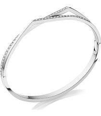 'antifer' diamond white gold double row bracelet