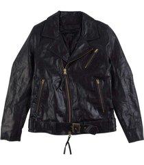 hellish leather jacket