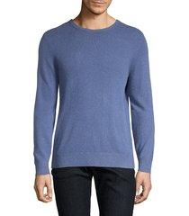 amicale men's cashmere crewneck sweater - burgundy - size xl