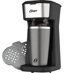 cafeteira oster 2day inox 2 em 1 com copo térmico - ocaf200 - 110 volts