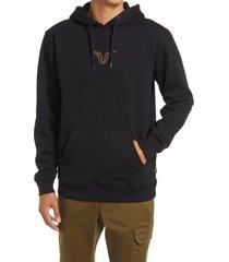 men's vans men's gallery nathan hoodie, size small - black