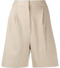 fabiana filippi tailored bermuda shorts - neutrals