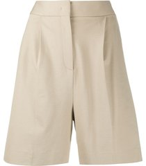 fabiana filippi tailored bermuda shorts - neutrals
