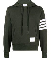 classic loopback hoodie, dark green