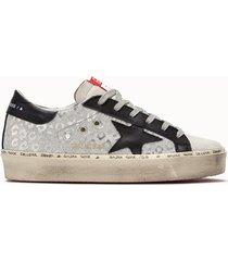 golden goose deluxe brand sneakers hi star colore argento