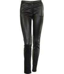 fabiana filippi skinny leather trousers
