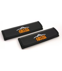 arctic trucks seat belt covers leather shoulder pads accessories with emblem