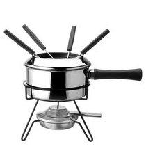 aparelho de fondue viena 8 peças 1 litro - forma