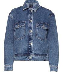 marie jacket jeansjacka denimjacka blå wood wood