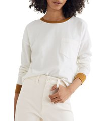 women's madewell drop sleeve pocket t-shirt
