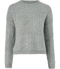 tröja onlchunky l/s pullover