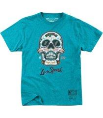 mitchell & ness san antonio spurs men's sugar skull t-shirt