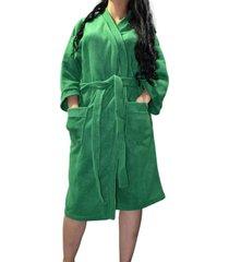 levantadora mujer polar verde santana