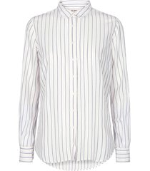 kayla fine stripe shirt