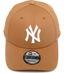 boné new era snapback new york yankees caramelo