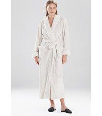 natori plush sherpa sleep & lounge bath wrap robe, women's, size xl natori
