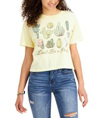 love tribe juniors' don't be a prick graphic t-shirt